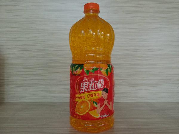 果汁果粒饮料