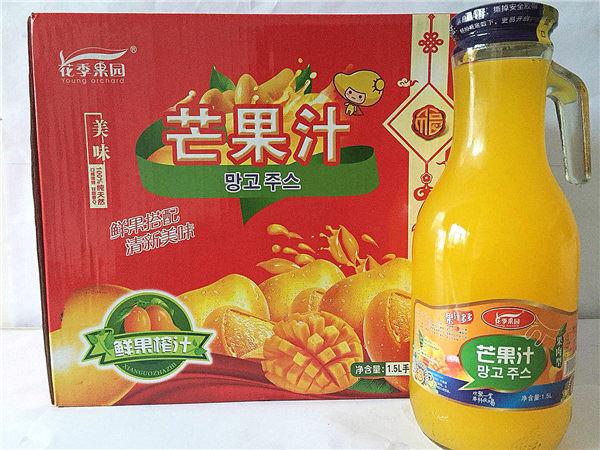 花季果园芒果汁