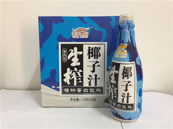 花季果园椰汁老包装